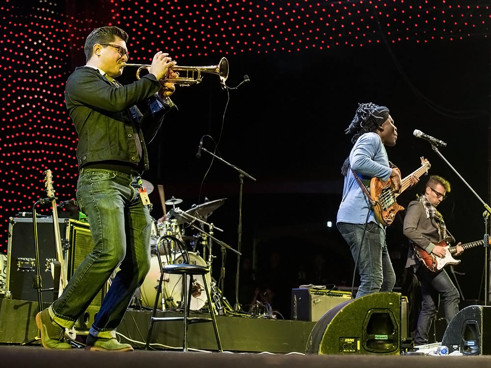 Jarasum International Jazz Festival in South Korea with the Richard Bona Group
