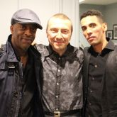 The great rhythm section of Donald Edwards, Boris Kozlov, and Theo Hill