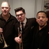 Trumpet Section! Alex Norris and Philip Harper